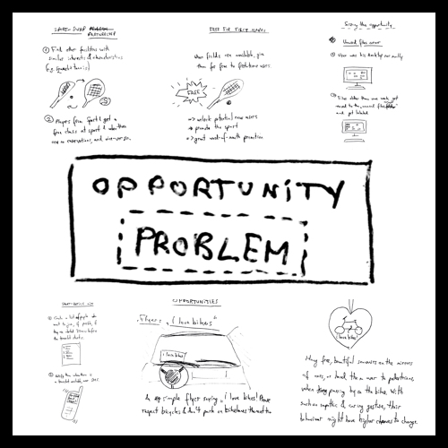 Problems as Opportunities Sketch 3