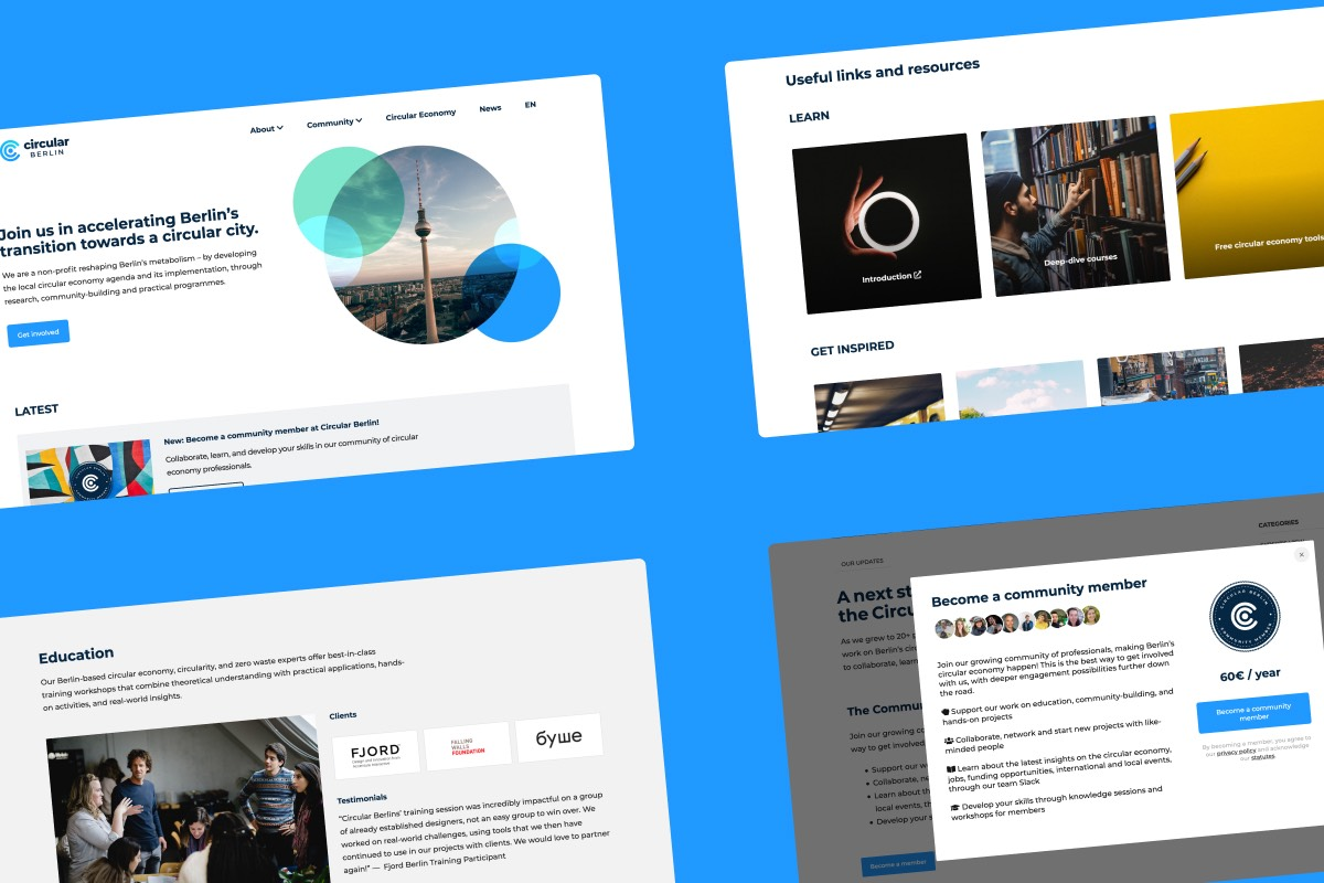 Project Circular Berlin_Website